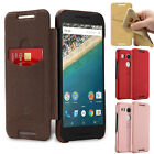 Luxury PU Leather Soft TPU Back Mix Flip Phone Wallet Case Cover For Nexus 5X 6P
