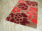 FLOWERED FLORAL RUG RUGS CLEARANCE SALE THICK PILE LARGE SMALL QUALITY FLORAL
