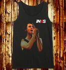 Michael Hutchence Onstage INXS The Farriss Brothers Dark Gray Men Women Vest Top