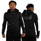 Streetwear Special Sixth June Attacker Hoodie With Faux Leather Kanye Style Rap