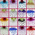 NEW 1000 Crystal Diamond Confetti Table Scatters 6.5mm Wedding Party Decoration