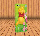 Disney Winnie The Pooh for Apple iPhone Samsung Hard Case Laser Technology