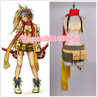 NEW Final Fantasy X-2 Rikku Cosplay Costume