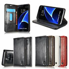 Slim Leather Wallet Card Holder Flip Case Cover Stand For Samsung Galaxy S7/edge