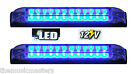 "2X BLUE 6"" Car Boat RV 12 LED LIGHT STRIP Waterproof 12V Marine Accent Lighting"