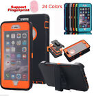 For iPhone 6s 7 7 Plus Shockproof Hybrid Heavy Duty Case Cover+Belt Clip Holster