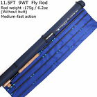 5/6/7 WT Fly Rod Medium-fast Switch Fly Fishing Rod & 2Switchable Fighting Butt