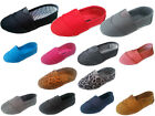 New baby infant toddler girls boys slip on canvas shoes size 4-10