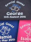 Personalised Baby /Toddler Bib - Wedding - Embroidered - Gift/Favour -Boys/Girls