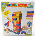46 pcs tumbling tower with dice to play , family game, colorful , postage includ