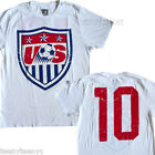 Junk Food USA World Cup US Soccer Team #10 t-shirt Vintage type Distressed print