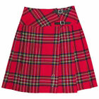 "Tartanista Long Royal Stewart Red Tartan/Plaid 23"" Wrap Kilt Skirt"