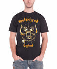 Motorhead Mens T Shirt Black England War Pig Mustard Official