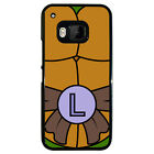 Ninja Turtle for Black Plastic HTC ONE M9 Phone case