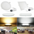 6/9/12/15/18/21W Dimmable Recessed Ceiling Panel LED Light Bulb Lamp home#ff