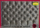 LUXURY NEW CUBED STAR DESIGNER CRUSHED VELVET DIAMONTES HEADBOARD  All Sizes