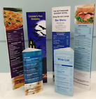 TABLE TALKER A4 Table Menu  Laminated,  (Stand up table menu)   ANY DESIGN