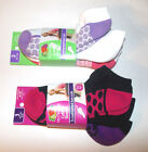 Fruit of the Loom Womens Cushioned Low Cuts Socks 3 Pack Black Shoe Size 4-10