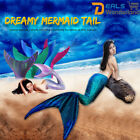 Dreamy Mermaid Tail with Monofin for Swimming fins women & Girls Swimsuit