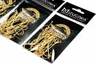 Thorn Long Shank Aberdeen Fishing Hooks Gold Color Fresh Water living Baits Hook