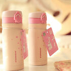 350ML Sakura Stainless Steel Vacuum Bottle Coffee Travel Insulated Thermos Cup