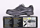 NEW JUNIOR CRIVIT GOLF SHOES NAPPA LEATHER BLACK SIZES 5 6 7 PLUS FREE SHOE BAG