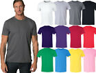 Men / Unisex Crewneck Plus Size Basic T-shirt Extra Soft 100% Cotton 2X-6X image