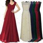 Ladies Elegant Evening Party Maxi Wedding Bridesmaids Formal Lace Floral Dresses