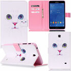 NEW For Samsung Galaxy Tab 4 7 Inch SM-T230NU T237 Slim Nook Leather Case Cover