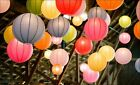 "8""14"" 16""18""Multicolor Chinese Paper Lantern Wedding Party Decoration pk of 1pc"