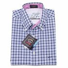 0139P camicia uomo PAUL & SARK blu manica corta shirt sleeveless men