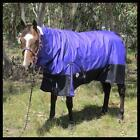 LOVE MY HORSE 1200D 200g 6'3 - 7'0 Ripstop Turnout Winter Combo Purple /Black