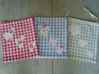 Fabulous Drawstring Bag in Laura Ashley Gingham with Choice of Detail - Girls