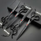 7 inch Pro.pet grooming scissors/Shears Cutting 2Curved Thinning shears 4pcs set