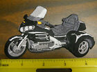 "GL1800 GOLDWING TRIKE 4-1/2"" IRON-ON EMBROIDERED PATCH 8 COLOR CHOICES"