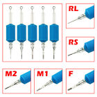 6PCS/Lot Blue Disposable Tattoo Tube Tips with Nozzle Needles Grip