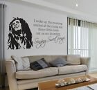 Bob Marley Sweet Songs Lyrics Quote Music Wall Sticker Decal Vinyl Wall Art