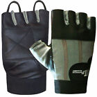 Leather Weight Lifting Gloves Gym Training Workout Body Building Gloves