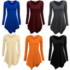 Womens Fashion Blouse Sexy Loose Tops Long Sleeve Shirt Pullover Casual Blouse