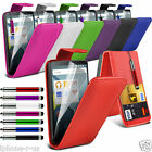 6 Colours Leather Flip Mobile Phone Case Cover For Huawei Ascend Y635