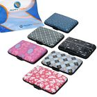RoryTory 6pc RFID Protection Aluminum Credit Card Wallet Case Organizer Set