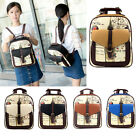 Women Girls Backpack School Shoulder Bag Faux Leather Rucksack Satchel Bookbag