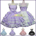 Cosplay Dress Lolita Angel Love Costume Chiffon Gothic Princess Maid Outfit