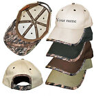Custom name Rockpoint Camo trim Ranch cap Camoflauge hunting cap true timber