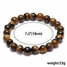 Natural Stone Bead Bracelet Men Women Tiger Eye Turquoise Bangle Jewelry Gift <br/> 12000+ SOLD !!! Top Quality! Free P&P! 44 Styles Choose