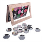 Empty Metal Iron Pans Round-shape Cosmetic Container Fit Magnetic Makeup Palette