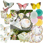Truly Fairy Vintage Party Tableware Catering Supplies Plates Napkins Decoration