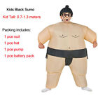 Kid Adult Inflatable Sumo Costumes Fat Wrestler Suits Halloween Carnival Outfit