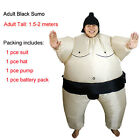 Kid Adult Inflatable Sumo Costumes Fat Wrestler Suits Halloween Wrestling Outfit