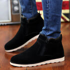 Shoes men boots winter Casual warm with short plush ankle Height Increasing